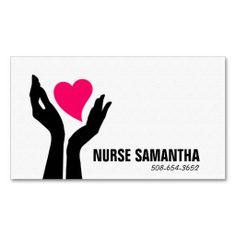 Nursing Home Care Business Card