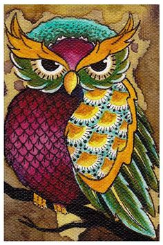 Owl Paintings and Prints | fine art prints owl art print product 52 94