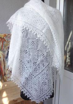 Белая паутинка ручное вязание. Козий пух http://www.livemaster.ru/shalizpuha