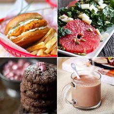 Nutella Latte & Chipotle Salmon Burgers, etc. Delicious Links!