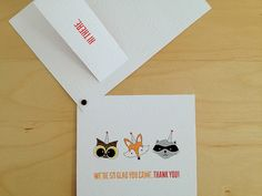 Samuel's thank you cards 3.