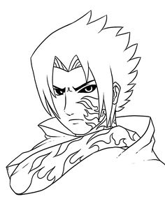 naruto shippuden coloring pages to print Anime Pinterest