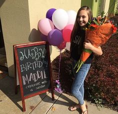 the hair salon loves Maddie too! it's to hard not to!