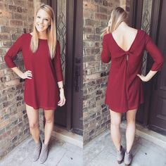 Southern Elegance Dress - Burgundy Perfect for fall events and gamedays! Isabelle & Avery Boutique Dresses