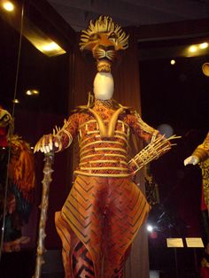 """""""Scar"""" costume from the Lion King Musical"""