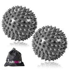 TWO PACK Premium Grade Spiky Massage Ball by Healthy Model Life Highly Recommended for Plantar Fasciitis Silver ** Find out more about the great product at the image link. Charcoal Hair, Acupressure Massage, Massage Tips, Plantar Fasciitis, Beauty Women, Women's Beauty, Makeup Organization, Oil Diffuser