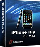 60% Off - Joboshare iPhone Rip for Mac is smart Mac iPhone copy, iPhone transfer software to copy music, movie, photo, ePub, pdf, audiobook, Voice Memo, Camera Roll (iOS 4 above), ringtone, Podcast, TV Show, SMS, Contact, Call List files from iPhone to Mac and copy files from iPhone to iTunes. Also allow you to add Music/Movie/Podcast to iPhone library. For the purchased songs/books, and free downloaded pocast and iTunes U, you can transfer them to Mac or sync them into iTunes library.