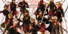 """Final Fantasy Type-0 HD """"The World at War"""" Trailer Released • Load the Game"""