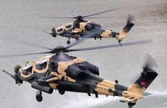 T-129 Attack Helicopters