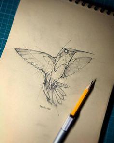 41 Trendy Ideas For Bird Sketch Pencil Artists Bird Drawings, Animal Drawings, Cool Drawings, Pencil Drawings, Drawing Birds, Cool Sketches, Drawing Sketches, Realistic Eye Drawing, Animal Sketches