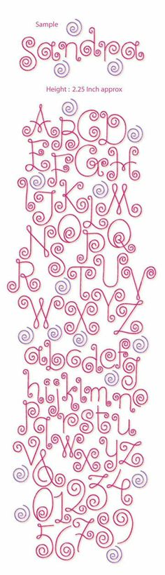 Grand Sewing Embroidery Designs At Home Ideas. Beauteous Finished Sewing Embroidery Designs At Home Ideas. Hand Lettering Alphabet, Doodle Lettering, Creative Lettering, Lettering Styles, Calligraphy Letters, Lettering Ideas, Alphabet Letters, Free Machine Embroidery Designs, Embroidery Patterns