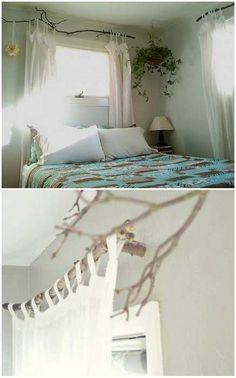 Ветки в интерьере: необычное и стильное решение для оформления любой комнаты