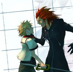 Axel and roxas sex