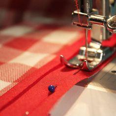 Estrena mantel con el #tutorial de #costura que hemos preparado en #PuntodeLu!! Link directo en la bio