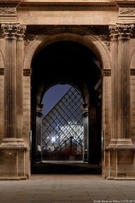 Timegate to the Louvre, Paris