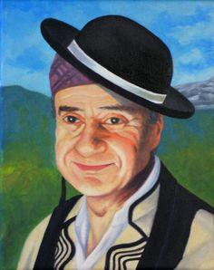 Don Luis Belsué. Oil painting.