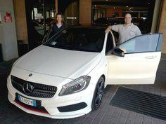 Luca ritira la sua splendida Classe A 250 Premium, davvero un'ottima scelta!