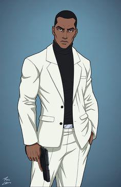 Tally Man commission by phil-cho on DeviantArt Man Character, Comic Character, Character Concept, Comic Manga, Comic Art, Black Cartoon Characters, Superhero Characters, Dope Cartoon Art, Cartoon Man