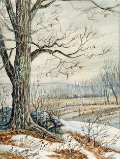 CHERYL JOHNSON ....... Watercolor .... Campton .... New Hampshire