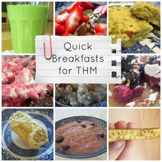 Quick Breakfasts for Trim Healthy Mamas {Low Carb, Grain Free, Dairy Free, Gluten Free, and Egg Free Options} | Counting All Joy.Com