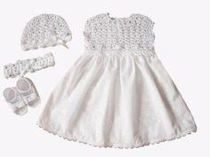 7941a18c0c Piękna szydełkowa koronkowa sukienka+dod. CHRZEST - 6881758762 - oficjalne  archiwum allegro