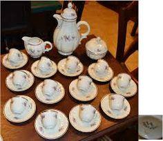 bule de café antigo da Porcelana Real - Pesquisa Google