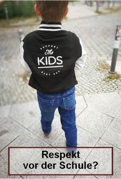 Respekt vor der Schule, einschulung, Waldorfschule, Schulkind, Einschulung, Vorschule Angst, Graphic Sweatshirt, Sweatshirts, Sweaters, Tricks, News, Inspiration, Fashion, School Starts