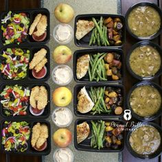 Meal Prep - Week of December 5th, 2016