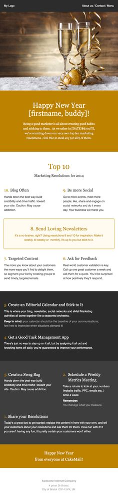 Newsletter Templates, Free Email Templates CakeMail Email - sample business newsletter