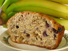 Blueberry Banana Nut Bread