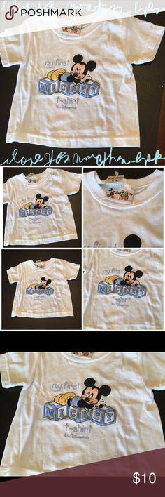 Walt Disney World Baby Shirt My first Mickey t-shirt— straight from Disney World. Size 3 months Walt Disney World Shirts & Tops