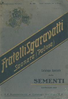 Catalogo speciale delle Sementi. N° 99