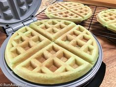 These Pandan Waffles are far from ordinary! Made from a batter using creamy coconut milk and fragrant Pandan flavoring, the waffles are cooked until golden brown. They are deliciously crispy on the outside, soft and slightly chewy on the inside and perfectly sweet. Make these amazing Pandan waffles and enjoy them as a snack any time! Notes on …