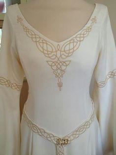 A Celtic Wedding Dress