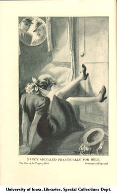 The clue of the tapping heels :: Mildred Wirt Benson Collection
