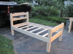 Good idea, make your own , instead of buying them junky pressed wood beds.