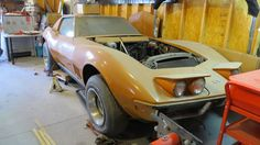 Florida Orange: 1969 Chevrolet Corvette Project - http://barnfinds.com/69202-2/