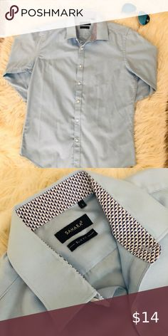 Structure Men/'s Slim /& Stretch Fit Dress Shirt Core White NWT