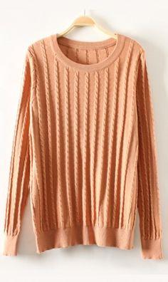 serratula Slim primer sweaters Carnation