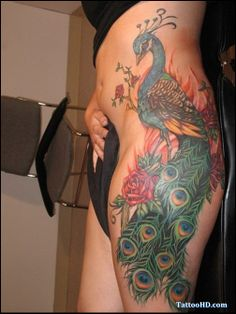 lower hip tattoo pictures