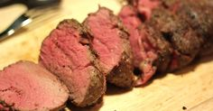 """When I was catering, sliced Beef Tenderloin was my go-to. I served it with soft rolls for """"heavy hors d'oeuvres,"""" on bite-sized toasts..."""