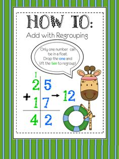 2 Digit Addition (with Regrouping)