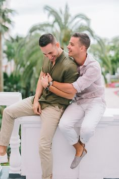 Josh and Tim Engaged at The Don Cesar Beach Engagement Photos, Engagement Photo Outfits, Engagement Couple, Gay Proposal, Lgbt, Couple Poses Reference, Romantic Wedding Photos, Cute Gay Couples, Photo Couple