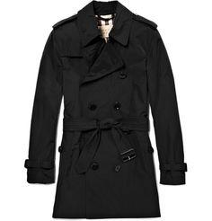 Mr Porter-Burberry Brit:Showerproof Trench Coat $750.00