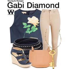 Inspired by Emily Osment as Gabi Diamond on Young & Hungry.