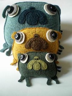 Lovely pug 'Neptun', from Maldimaglia oln Etsy...