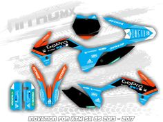 This NitroMX Full Graphics kit is for the. The above images is for KTM SX 85 2013 2014 2015 2016 2017 Bikes Graphics Grafik Design Decal Decor Décor Stickers Aufkleber. Ktm 250, Kit, Cool Dirt Bikes, Bike Stickers, Bike Pic, Custom Wraps, Motocross Bikes, Custom Bikes, Motorbikes