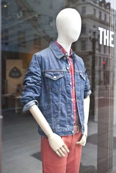 @Levi's® #RegentStreet Levis Store, Summer 2014, Four Square, Menswear, Community, Denim, Street, Jackets, Fashion