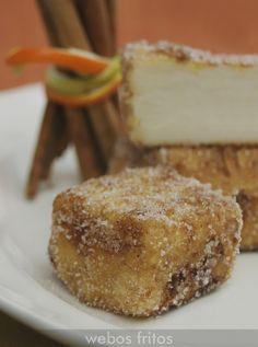 Receta de leche frita: fácil y rica, en el blog tienes la receta