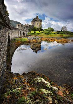 """shikuzoblade2: """"Eileen Donan Castle, Scotland """""""